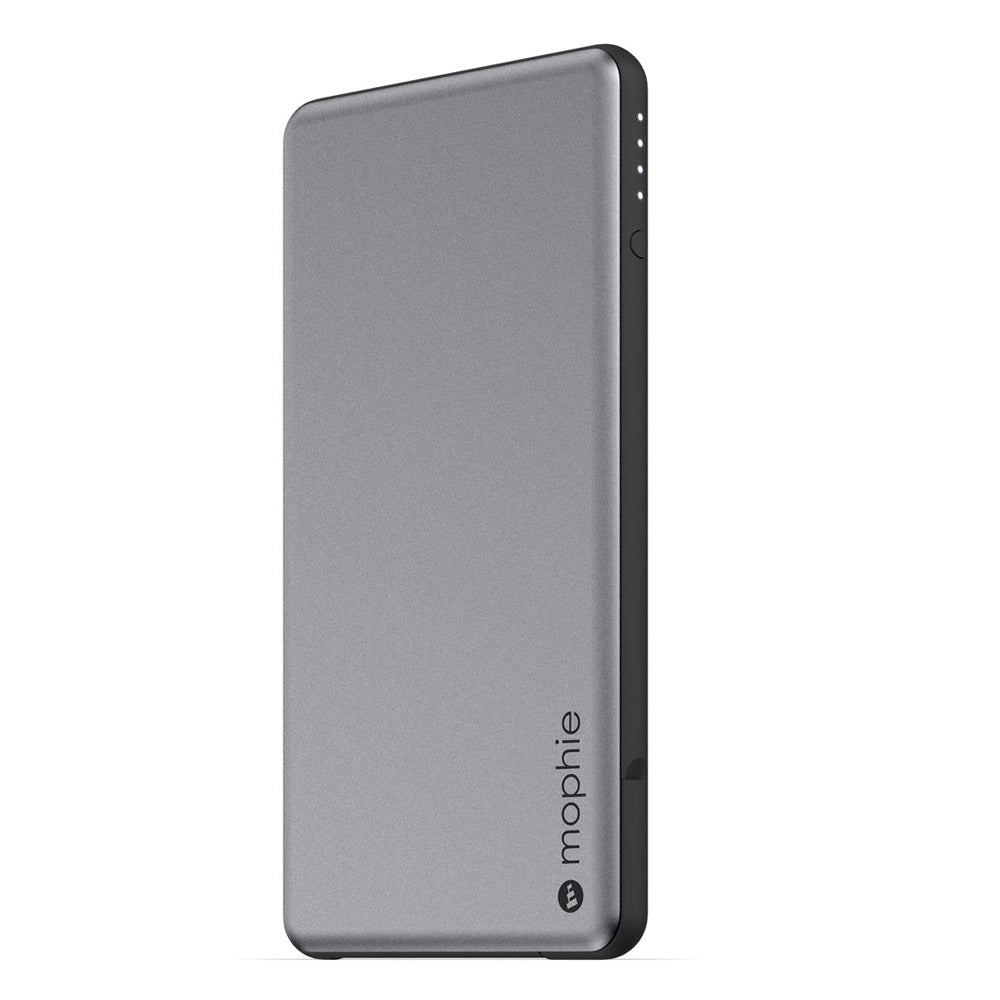 MOPHIE POWERSTATION PLUS MINI 4000 MAH EXTERNAL POWER BANK WITH BUILT IN CABLES - SPACE GRAY Australia Stock