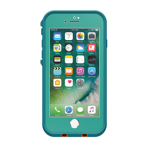 Lifeproof Fre Built-in Scratch Protector Waterproof Case for iPhone 7 - Teal