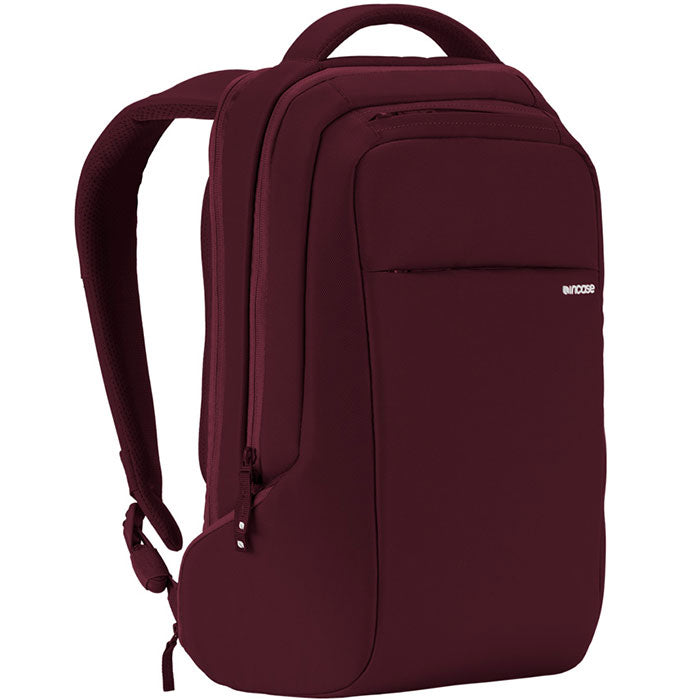 the best online store to shop incase icon slim backpack bag for macbook deep red tab, ipad, tablet, notebook, laptop, netbook Australia Stock