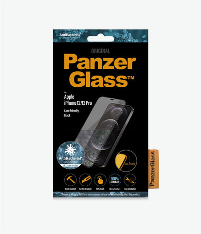 "Shop off your new iPhone 12 Pro/12 (6.1"") Tempered Glass Screen Protector From PANZERGLASS authentic accessories with afterpay & Free express shipping."
