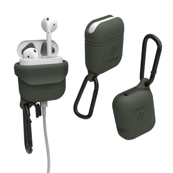 Place to buy WATERPROOF CASE FOR AIRPODS - ARMY GREEN From CATALYST online in Australia free shipping & afterpay.