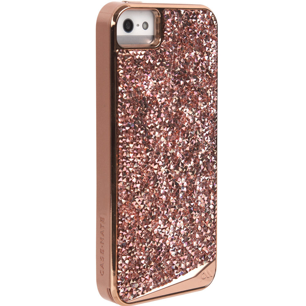 Shop Australia stock CaseMate Brilliance Case for iPhone SE/5s/5 - Rose Gold with free shipping online. Shop Casemate collections with afterpay Australia Stock