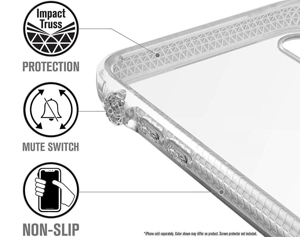 CATALYST IMPACT PROTECTION CASE FOR IPHONE XS/X - CLEAR Australia Stock