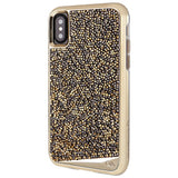 casemate brilliance tough genuine crystal case for iphone x gold colour