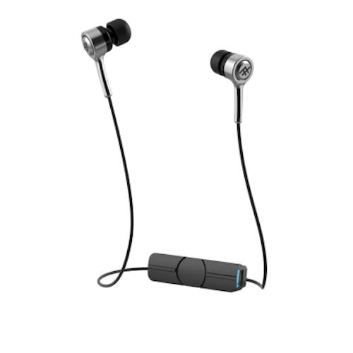 ZAGG IFROGZ CODA BLUETOOTH WIRELESS EARBUDS - SILVER