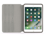 GRIFFIN SURVIVOR JOURNEY RUGGED FOLIO FOR IPAD PRO 9.7/9.7 (6TH/5TH GEN)/AIR /AIR 2 -SILVER