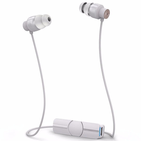 Trusted online store to shop and buy from official and authorized distributor ZAGG iFrogz Audio Impulse Wireless Bluetooth Earbuds - White/Rose Gold. Free express shipping Australia wide on Syntricate.