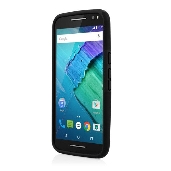 Place to buy and shop Incipio DualPro case for Moto X Style/Moto X Pure Edition - Black | Free Express Shipping Australia Wide on Syntricate. Australia Stock