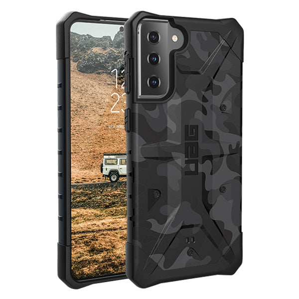 Buy new Galaxy S21 5G case from UAG with camo design look more sporty. Shop online at syntricate and enjoy afterpay payment with interest free.