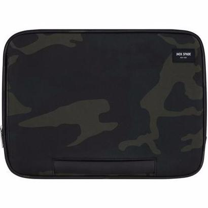 wher place to buy genuine and authentic army look Jack Spade New York Clutch Sleeve Cover For Macbook 13 Inch - Camo Wax Twill. Free express shipping Australia wide only on Syntricate.
