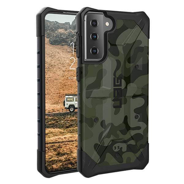 Best camo design more sporty for new galaxy S21 5G from UAG case collection, now comes with free shipping Australia wide.