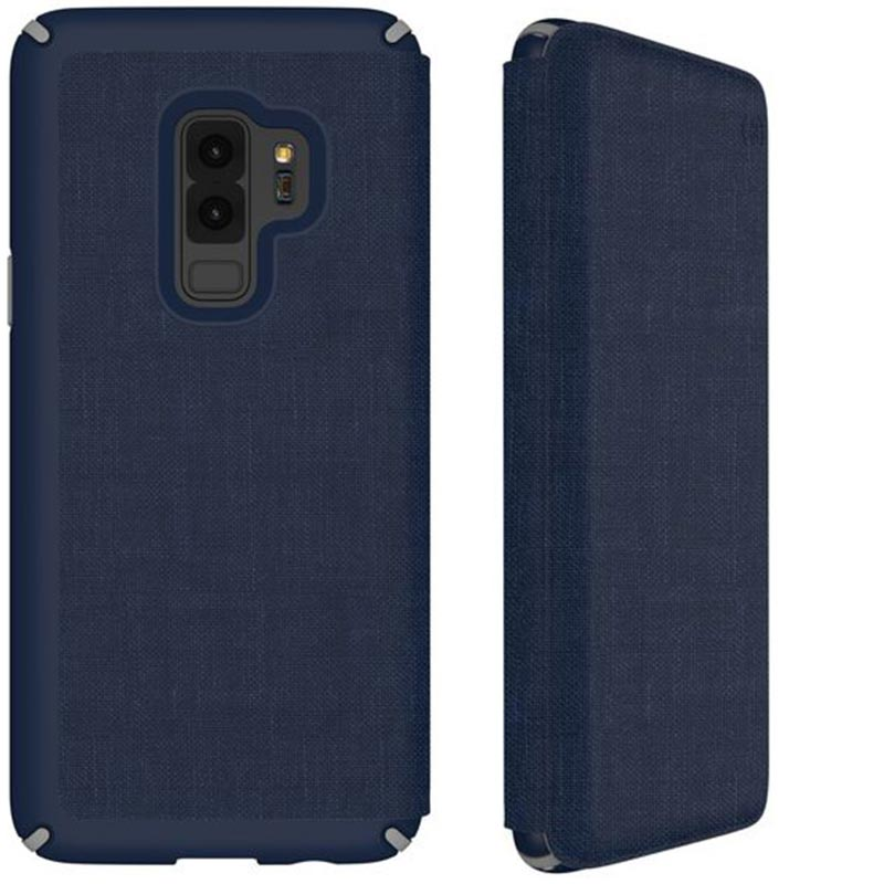Shop Australia stock SPECK PRESIDIO IMPACTIUM FOLIO CASE FOR GALAXY S9+ PLUS  - HEATHERED BLUE/GREY with free shipping online. Shop Speck collections with afterpay Australia Stock
