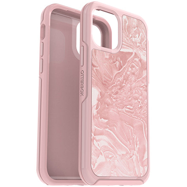 Pink rugged case from OTTERBOX looks more girly and feminine with design on the back, shop online now at syntricate with interest free.