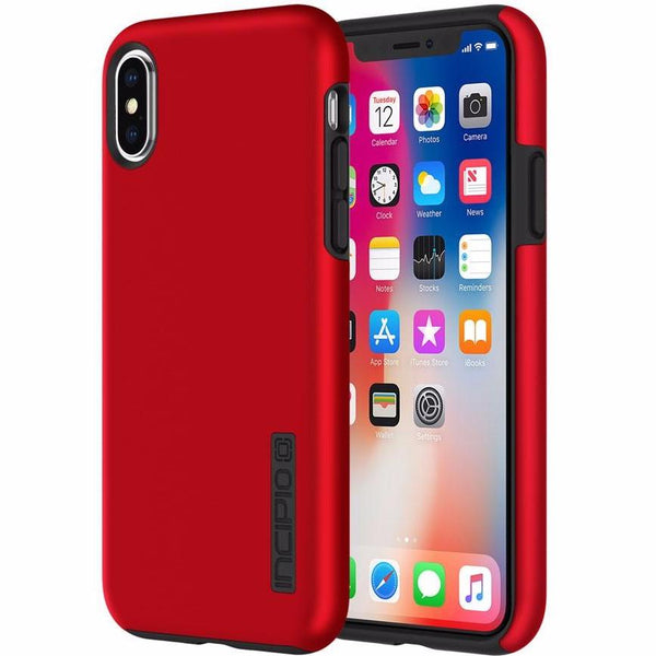 Vibrant red color though case from Incipio Dualpro Protective Case For Iphone X - Iridescent Red. Authorized distributor offer free express shipping Australia wide from Syntricate.