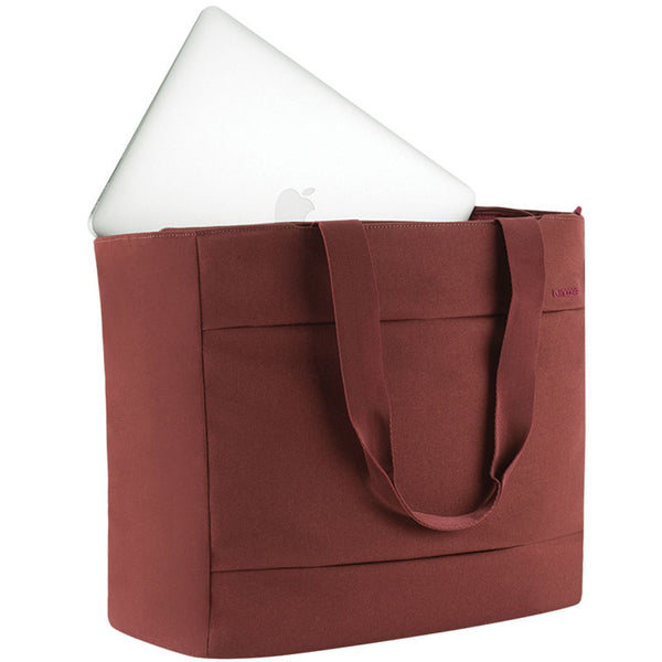 buy online incase city market tote bag for macbook upto 13 inch deep red australia syntricate trusted seller