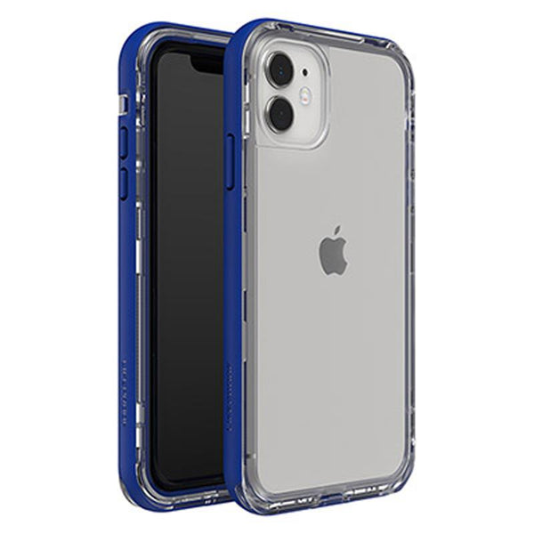 stylish blue clear back case with advance drop protection from lifeproof iphone 11