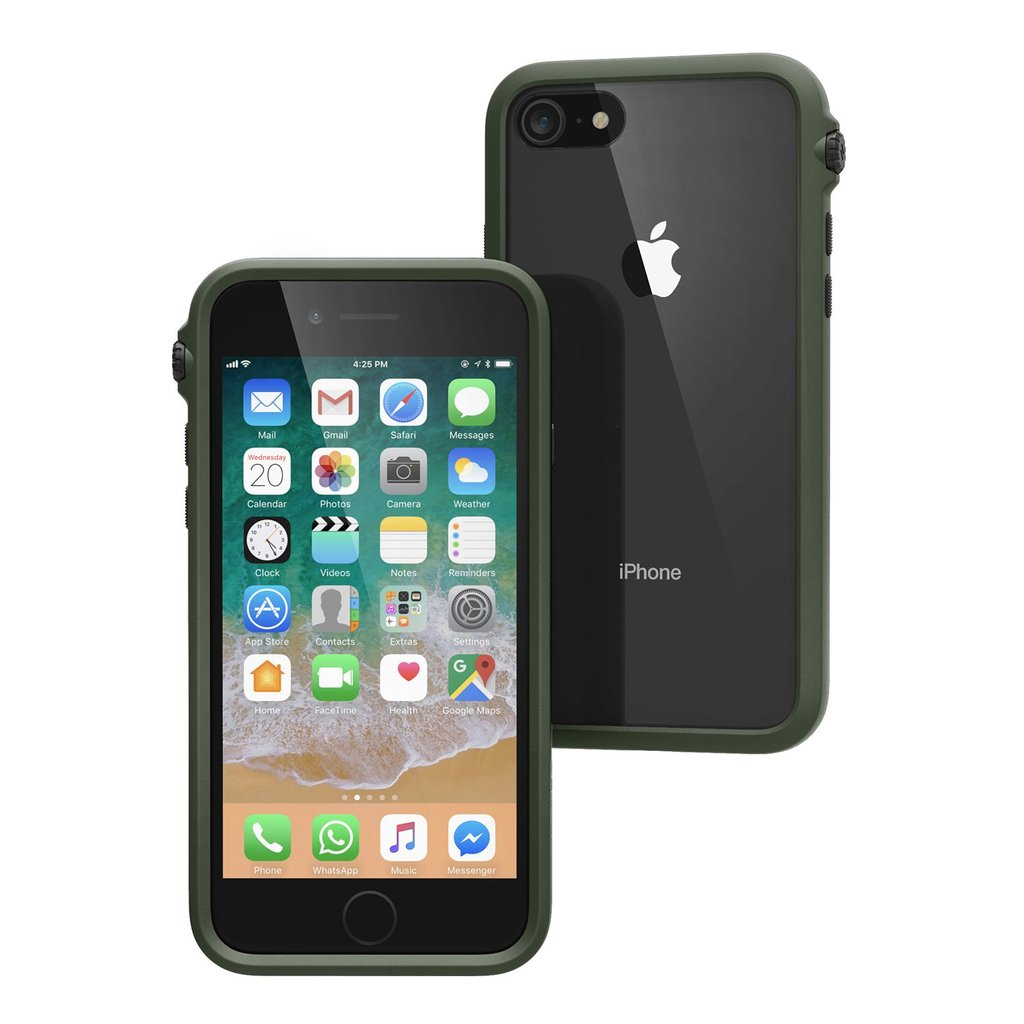 Get the latest stock IMPACT PROTECTION CASE FOR IPHONE 8/7 - ARMY GREEN from CATALYST free shipping & afterpay. Australia Stock
