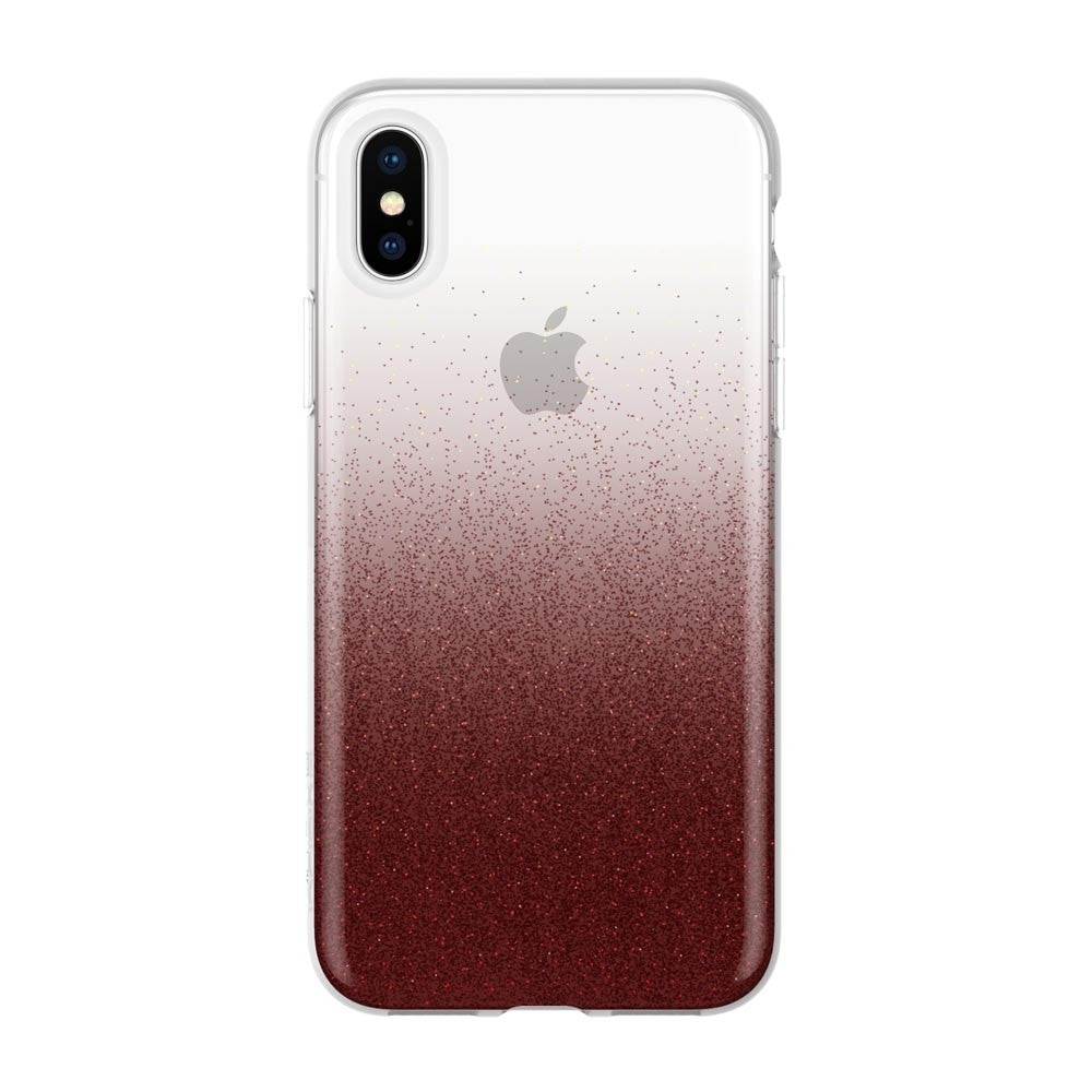 semi transparent iPhone XS Max Glitter case Australia from Incipio Australia Stock