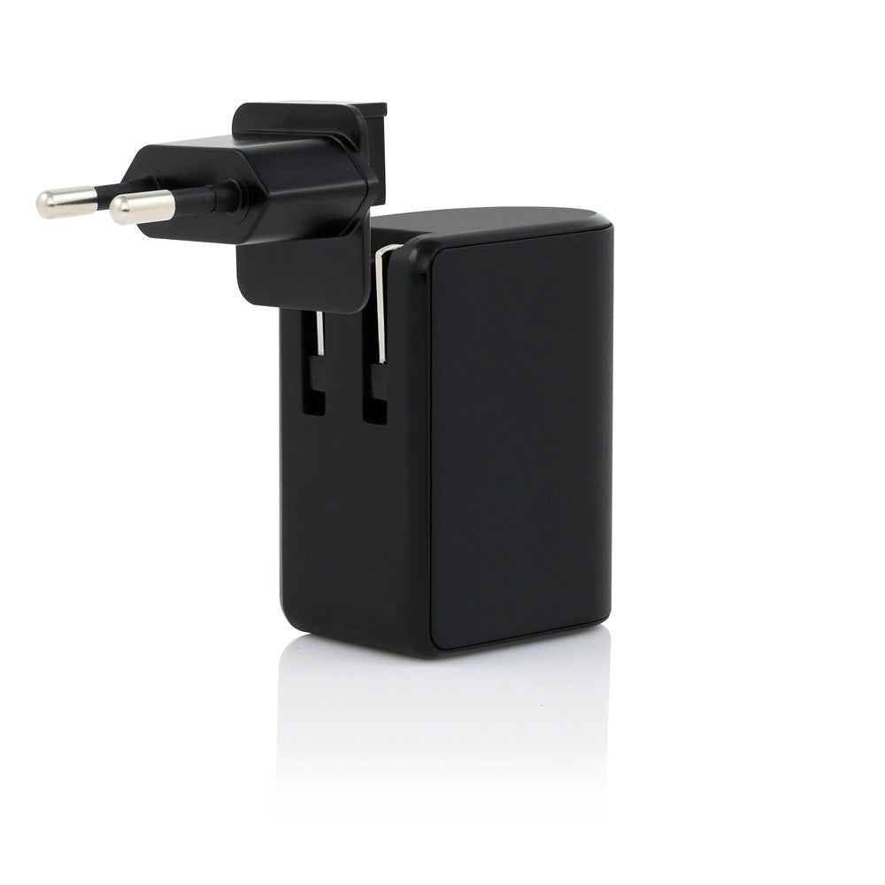 Incipio Usb-c International 15w Wall Charger Black  Australia Stock