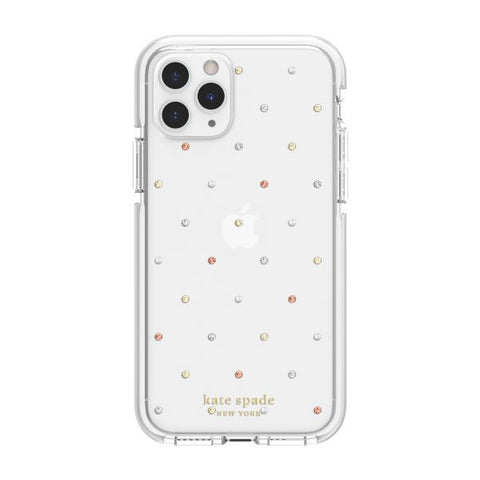 iphone 11 pro clear case with polka dot pattern. buy online local stock australia