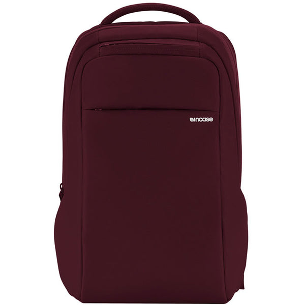 place to order incase icon slim backpack bag for macbook deep red tab, ipad, tablet, notebook, laptop, netbook