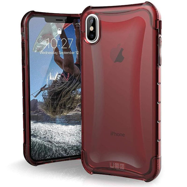 New Urban Armour Gear Plyo Case red fro iphone XS Max with free shipping
