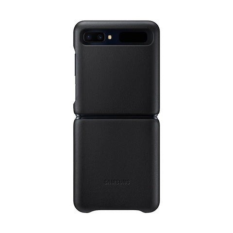 Shop Australia stock SAMSUNG Leather Cover Case For Galaxy Z Flip - Black with free shipping online. Shop Samsung collections with afterpay