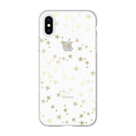 Incipio iPhone Xs & iPhone X Case with star clear pattern
