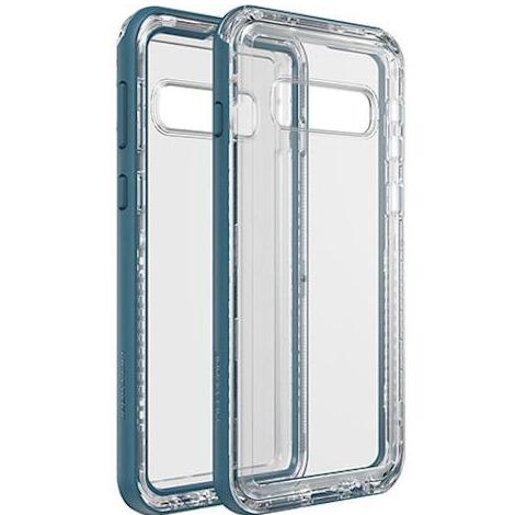 blue clear case for samsung galaxy s10