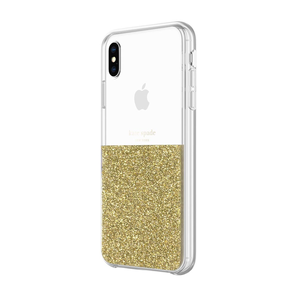 Shop Australia stock KATE SPADE NEW YORK HALF CLEAR CRYSTAL CASE FOR IPHONE XS MAX - GOLD with free shipping online. Shop Kate Spade New York collections with afterpay Australia Stock