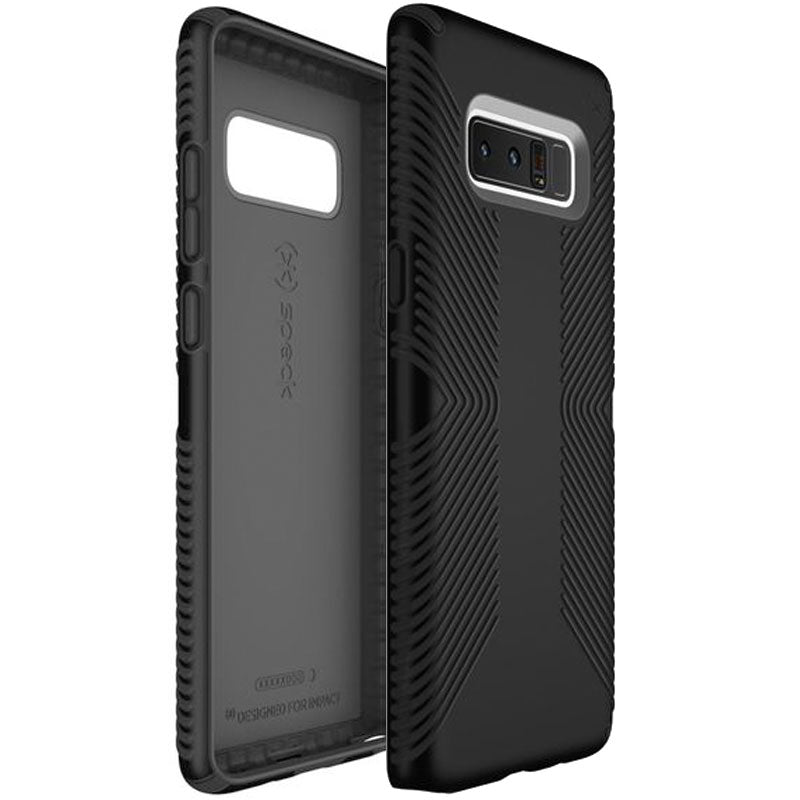 buy speck presidio grip impactium slim cases for galaxy note 8 - black/ black australia Australia Stock