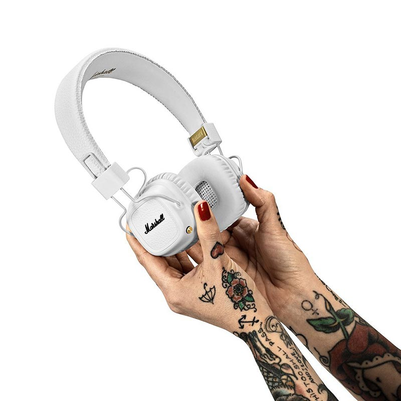 Shop Australia stock MARSHALL MAJOR II BLUETOOTH ON-EAR HEADPHONES - WHITE with free shipping online. Shop Marshall Headphones collections with afterpay Australia Stock
