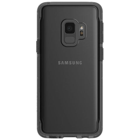 GRIFFIN SURVIVOR CLEAR SLIM CASE FOR GALAXY S9 - SMOKEY/BLACK