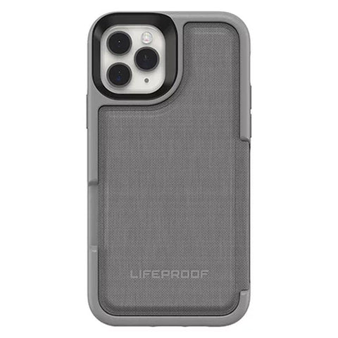 stylish grey case with magnetic design and extra storage lifeproof iphone 11 pro case