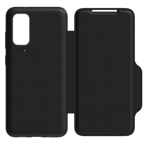 "Shop off your new Galaxy S20 Plus (6.7"") Monaco Card Wallet D3O Armour Case From EFM - Black Online local Australia stock."