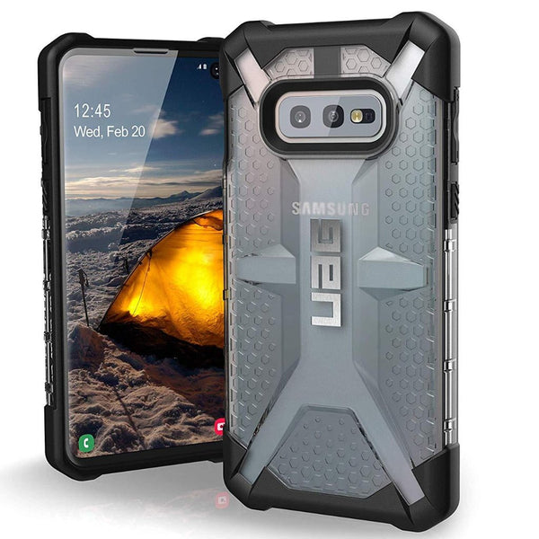 gray case from uag for new samsung galaxy s10e