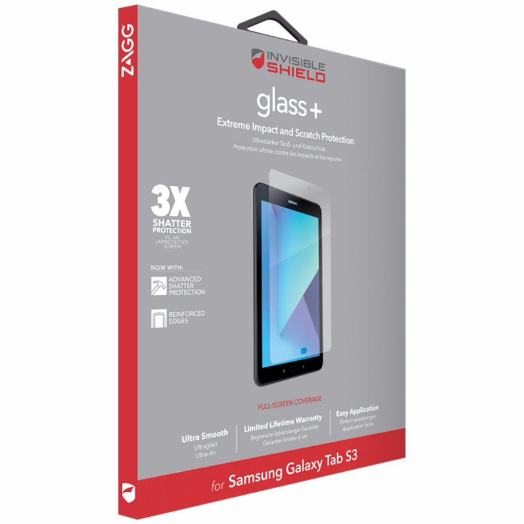 Shop Australia stock ZAGG INVISIBLESHIELD TEMPERED GLASS  PLUS SCREEN PROTECTOR FOR GALAXY TAB S3 9.7 INCH with free shipping online. Shop Zagg collections with afterpay Australia Stock