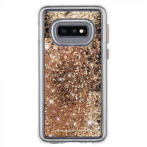 glitter gold woman style samsung galaxy s10e case from Casemate australia