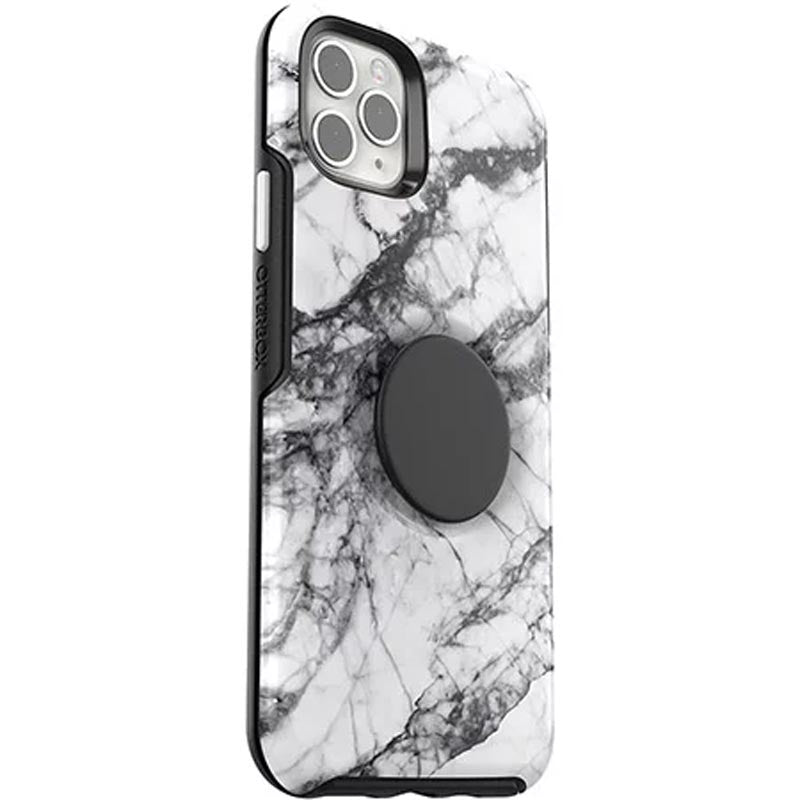 "Shop Australia stock Otterbox Otter + Pop Symmetry Case For iPhone 11 Pro Max (6.5"") - White Marble with free shipping online. Shop OtterBox collections with afterpay Australia Stock"