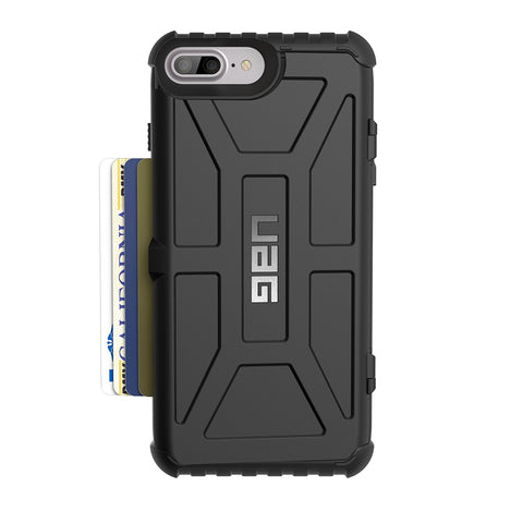 Shop Australia stock UAG Trooper Credit Card Case for iPhone 8 Plus/7 Plus/6S Plus - Black with free shipping online. Shop UAG collections with afterpay
