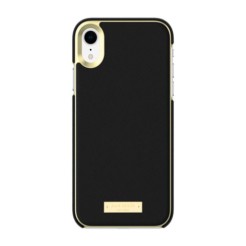 KATE SPADE NEW YORK WRAP CASE FOR IPHONE XR - SAFFIANO BLACK