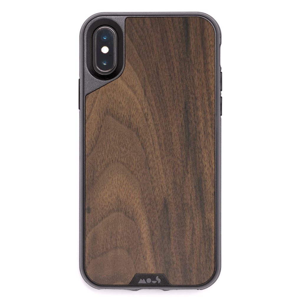 sale retailer 6e98a 5ca81 MOUS LIMITLESS 2.0 AIROSHOCK PROTECTIVE CASE FOR IPHONE XS MAX - WALNUT