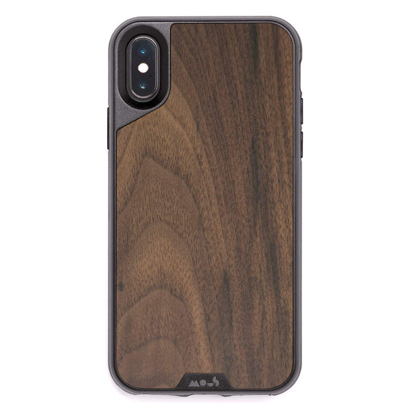 walnut wood style case for iphone xs max aoriginal wood series from Mous Australia