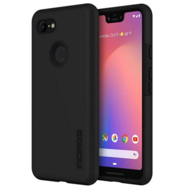 Place to buy DUALPRO DUAL LAYER PROTECTIVE CASE  FOR GOOGLE PIXEL 3 XL BLACK COLOUR from INCIPIO online in Australia free shipping & afterpay.