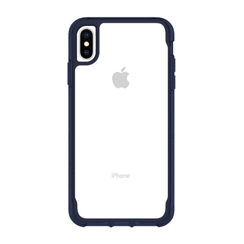 iPhone XS Max clear blue case form Griffin survivor Australia
