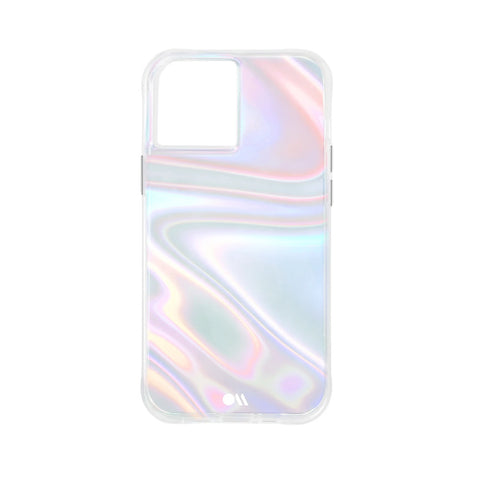 "Shop Online from Australia biggest online Case & Accessories iPhone 12 mini (5.4"") Soap Bubble Case From CASEMATE - Iridescent with free shipping Australia wide"