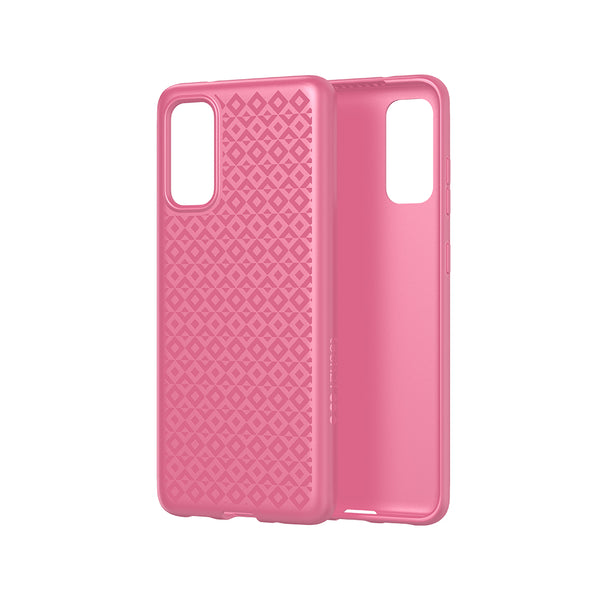 Samsung s20 Design Girly pink Case with advance bulletshield protection from tech21 australia