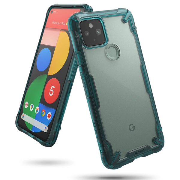 rugged green silicone case from ringke fusion x series for google pixel 5 australia