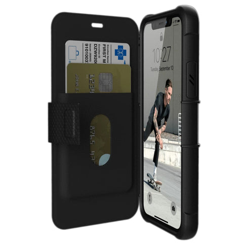 "Shop Australia stock UAG Metropolis Folio Wallet Case For iPhone 11 Pro (5.8"") - Black with free shipping online. Shop UAG collections with afterpay"