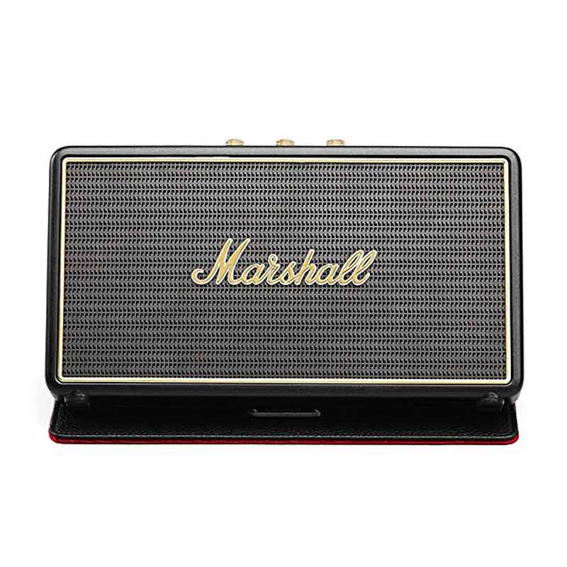 buy marshall stockwell portable bluetooth speaker with flipcover black australia Australia Stock